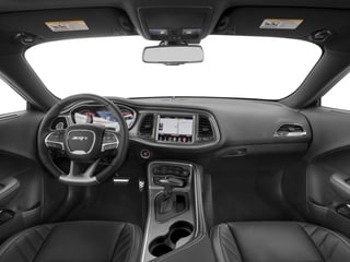 2017 Dodge Challenger Pictures Challenger SRT Hellcat Coupe photos full dashboard