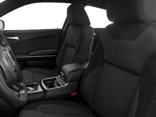 2017 Dodge Charger Pictures Charger Sedan 4D SE V6 photos front seat interior