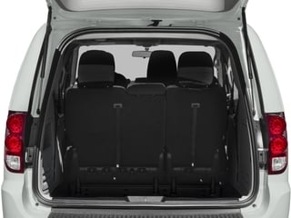 2017 Dodge Grand Caravan Pictures Grand Caravan Grand Caravan SE V6 photos open trunk