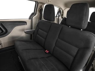 2017 Dodge Grand Caravan Pictures Grand Caravan Grand Caravan SE V6 photos backseat interior