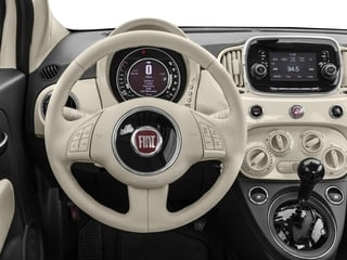 2017 FIAT 500 Pictures 500 Lounge Hatch photos driver's dashboard