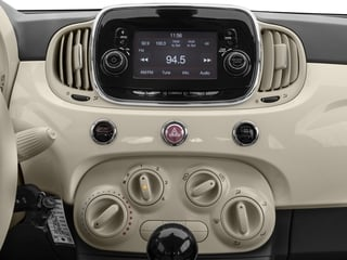 2017 FIAT 500 Pictures 500 Lounge Hatch photos stereo system