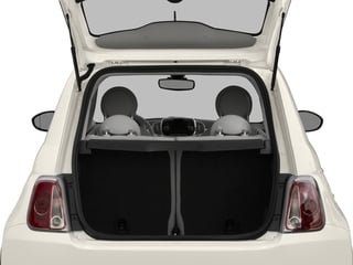 2017 FIAT 500 Pictures 500 Lounge Hatch photos open trunk