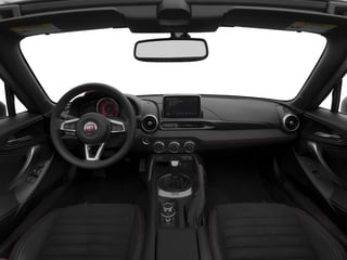 2017 FIAT 124 Spider Pictures 124 Spider Conv 2D Elaborazione Abarth I4 Turbo photos full dashboard