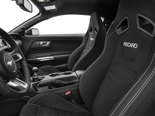 2017 Ford Mustang Pictures Mustang Coupe 2D GT V8 photos front seat interior