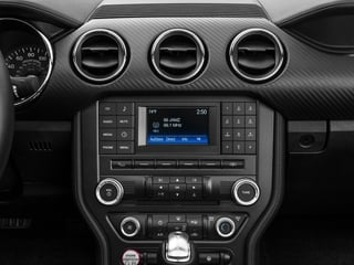 2017 Ford Mustang Pictures Mustang Convertible 2D V6 photos stereo system