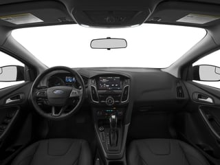 2017 Ford Focus Pictures Focus Hatchback 5D SEL photos full dashboard