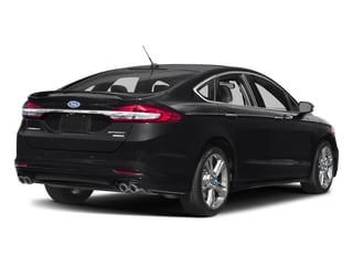 2017 Ford Fusion Pictures Fusion Sedan 4D Sport EcoBoost V4 Turbo photos side rear view
