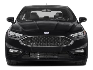 2017 Ford Fusion Pictures Fusion Sedan 4D Sport EcoBoost V4 Turbo photos front view