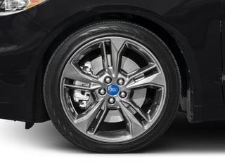 2017 Ford Fusion Pictures Fusion Sedan 4D Sport EcoBoost V4 Turbo photos wheel