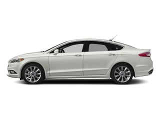 2017 Ford Fusion Pictures Fusion Sedan 4D Platinum AWD I4 Turbo photos side view