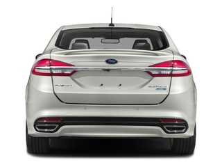 2017 Ford Fusion Pictures Fusion Sedan 4D Platinum AWD I4 Turbo photos rear view