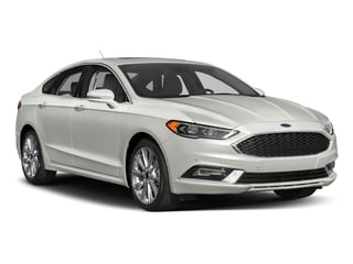 2017 Ford Fusion Pictures Fusion Sedan 4D Platinum AWD I4 Turbo photos side front view
