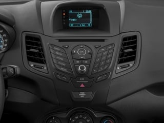 2017 Ford Fiesta Pictures Fiesta Sedan 4D S I4 photos stereo system