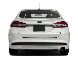 2017 Ford Fusion Pictures Fusion Sedan 4D SE I4 Hybrid photos rear view