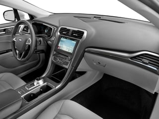 2017 Ford Fusion Pictures Fusion Sedan 4D SE I4 Hybrid photos passenger's dashboard