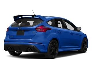 2017 Ford Focus Pictures Focus Hatchback 5D RS AWD I4 Turbo photos side rear view