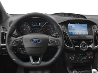 2017 Ford Focus Pictures Focus Hatchback 5D RS AWD I4 Turbo photos driver's dashboard