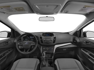 2017 Ford Escape Pictures Escape Utility 4D S 2WD I4 photos full dashboard