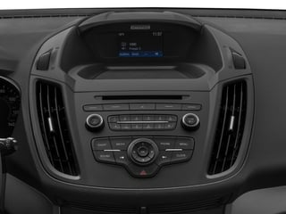 2017 Ford Escape Pictures Escape Utility 4D S 2WD I4 photos stereo system