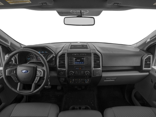 2017 Ford F-150 Pictures F-150 Regular Cab XLT 4WD photos full dashboard