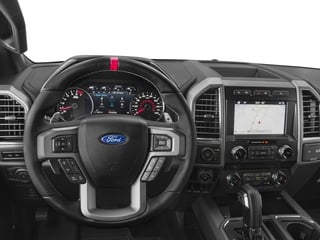 2017 Ford F-150 Pictures F-150 Crew Cab Raptor 4WD photos driver's dashboard
