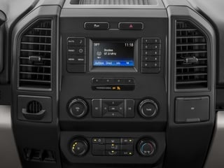 2017 Ford F-150 Pictures F-150 Supercab XL 4WD photos stereo system