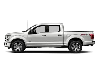 2017 Ford F-150 Pictures F-150 Crew Cab Platinum 2WD photos side view