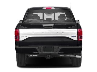 2017 Ford F-150 Pictures F-150 Crew Cab Limited EcoBoost 2WD photos rear view