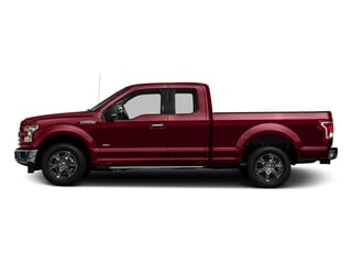 2017 Ford F-150 Pictures F-150 Supercab XLT 4WD photos side view