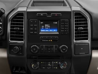 2017 Ford F-150 Pictures F-150 Supercab XLT 4WD photos stereo system
