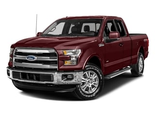 2017 Ford F-150 Pictures F-150 Supercab Lariat 2WD photos side front view