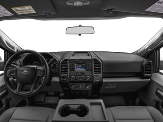 2017 Ford F-150 Pictures F-150 Regular Cab XL 4WD photos full dashboard