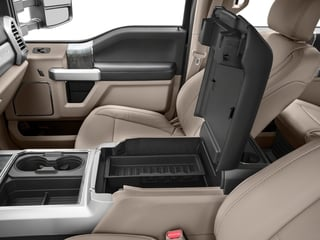 2017 Ford Super Duty F-450 DRW Pictures Super Duty F-450 DRW Crew Cab Lariat 4WD T-Diesel photos center storage console
