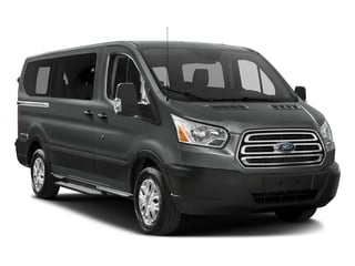 2017 Ford Transit Wagon Pictures Transit Wagon Passenger Van XLT Low Roof photos side front view
