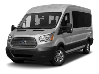 2017 Ford Transit Wagon Pictures Transit Wagon Passenger Van XL Medium Roof photos side front view