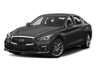 2017 INFINITI Q50 Pictures Q50 Sedan 4D 3.0T Red Sport V6 Turbo photos side front view