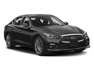 2017 INFINITI Q50 Pictures Q50 Sedan 4D 2.0T Sport AWD I4 Turbo photos side front view