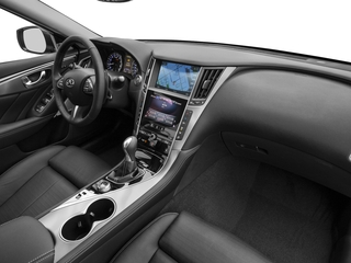 2017 INFINITI Q50 Pictures Q50 3.0t Sport AWD photos passenger's dashboard