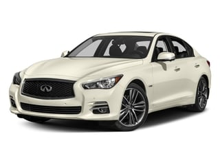 2017 INFINITI Q50 Hybrid Pictures Q50 Hybrid Sedan 4D AWD V6 Hybrid photos side front view