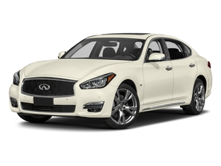 2017 INFINITI Q70L Pictures Q70L 5.6 RWD photos side front view