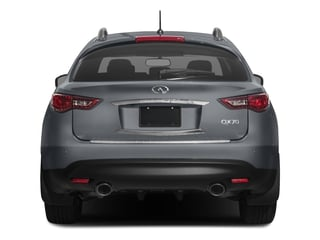 2017 INFINITI QX70 Pictures QX70 RWD photos rear view