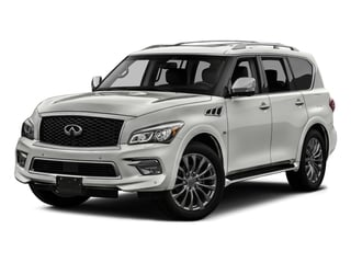 2017 INFINITI QX80 Pictures QX80 Utility 4D Signature 2WD V8 photos side front view