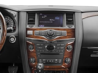 2017 INFINITI QX80 Pictures QX80 Utility 4D AWD V8 photos stereo system