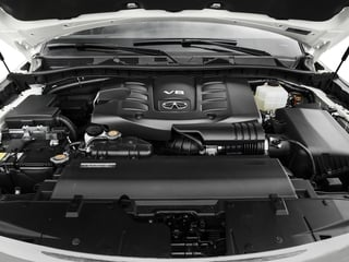 2017 INFINITI QX80 Pictures QX80 Utility 4D Signature 2WD V8 photos engine