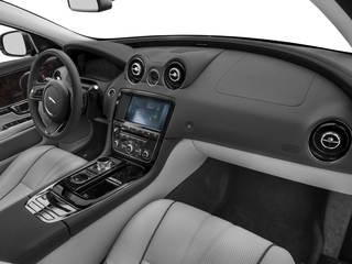 2017 Jaguar XJ Pictures XJ Sedan 4D V8 Supercharged photos passenger's dashboard