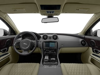 2017 Jaguar XJ Pictures XJ XJL Supercharged RWD photos full dashboard