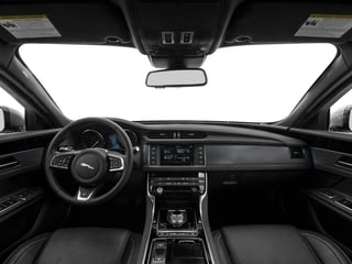 2017 Jaguar XF Pictures XF Sedan 4D 35t R-Sport V6 Supercharged photos full dashboard
