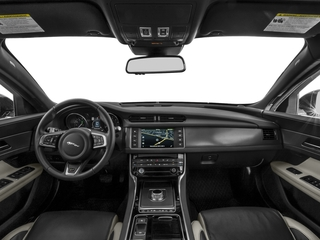 2017 Jaguar XF Pictures XF Sedan 4D 35t AWD V6 photos full dashboard