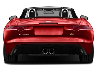2017 Jaguar F-TYPE Pictures F-TYPE Convertible Manual S photos rear view
